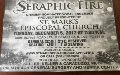 St. Mark's Episcopal Church's presentation of Seraphic Fire