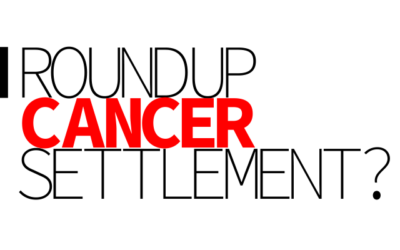 Roundup Cancer Case May be Reaching a Settlement.